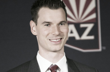 Arizona Coyotes' GM John Chayka chose to not make any big deals at the deadline. (Photo: usatoday.com)