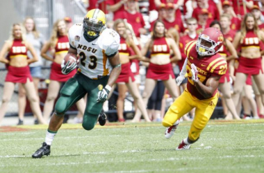 John Crockett led the rushing attack for North Dakota State (Courtney Collins / Courier Staff Photographer