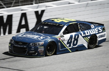 Jimmie Johnson's Lowes #48 Hendrick Chevrolet aiming for historic victory | Picture Credit: Barry Cantrell/NKP