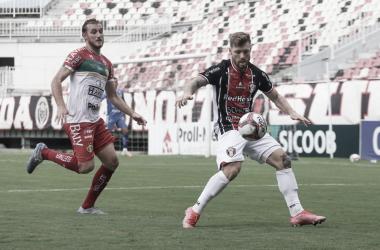 """Após empate com Brusque, JEC decide vaga na rodada final do Catarinense: """"Vai ser guerra"""""""