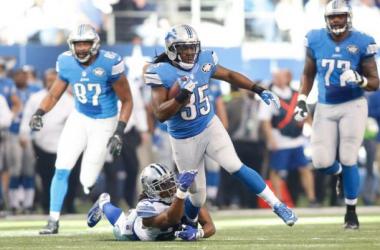 2015 Detroit Lions Running Backs