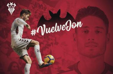 Jon Erice vuelve al Albacete