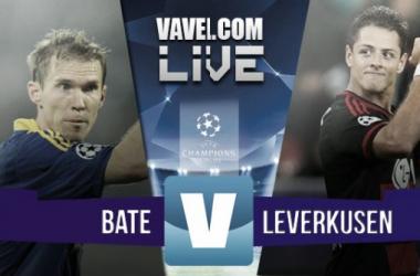 Resultado BATE Borisov - Bayer Leverkusen en en Champions League 2015: congelados hasta el alma (1-1)