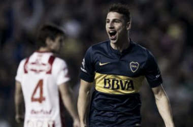 Calleri jugó un gran partido y marcó por duplicado, pero a Boca no le alcanzó. Foto: Olé.
