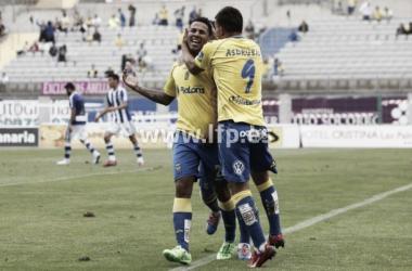 Las Palmas - Recreativo: puntuaciones de Las Palmas, jornada 38 de la Liga Adelante