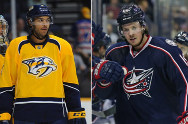 Columbus and Nashville swapped former fourth overall picks. Photo by USATSI.