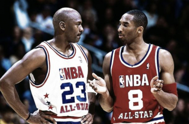 """Michael Jordan: """"Felicito a Kobe. Estoy esperando ver lo siguiente que consigue"""""""