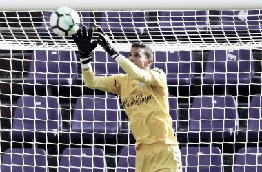 Jordi Masip durante la pasada temporada/ Real Valladolid
