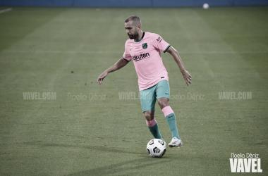 Jordi Alba, fijo en la alineación de Koeman | Foto: Noelia Déniz (VAVEL)