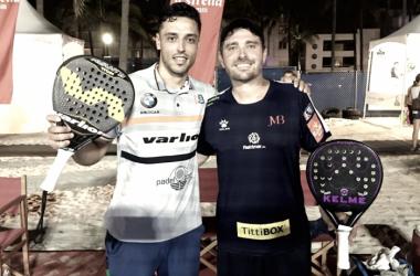 Lijo y Muñoz tras la victoria| Foto: World Padel Tour