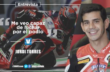 """Entrevista a Jordi Torres: """"Me veo capaz de luchar por el podio"""""""