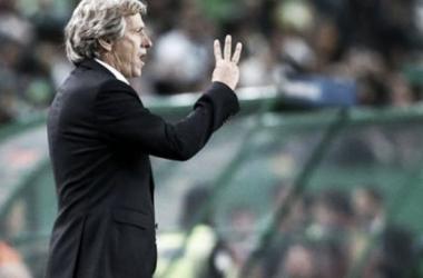Jesus confía en que sus equipo puede clasificar ante el Barcelona / www.sporting.pt