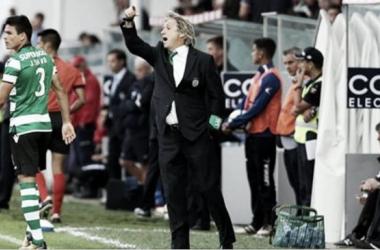 """Jorge Jesus: """"Felicitaciones a los jugadores y gracias a los fanáticos"""""""