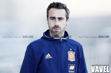 Jorge Vilda en un encuentro con la selección española. | Foto: José María Colomo (VAVEL.com).