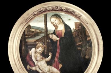 La Virgen con el niño y san Juan / fuente: Public domain