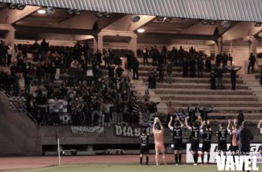 Fotos e imágenes del SD Compostela 0-2 Racing Club de Ferrol de la jornada 15, Segunda División B Grupo I