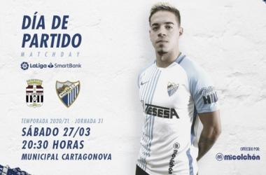 Previa FC Cartagena - Málaga CF: cómo luchar con 14 fichas profesionales