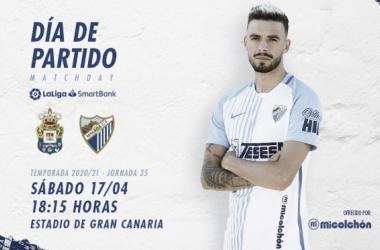 Día de partido, posando Cristian. / Foto: Málaga CF.