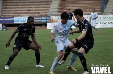 Fotos e imágenes del SD Compostela 1-1 Real Oviedo de la jornada 36, Segunda División B Grupo I