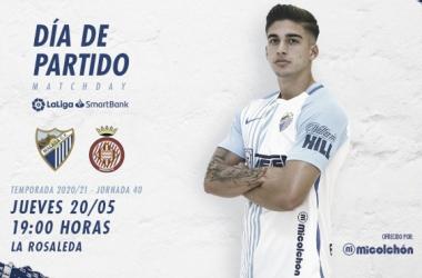 Previa Málaga CF - Girona FC: haciendo las maletas