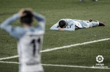 Joaquín junto Yanis Rahmani lamentando la derrota./ Foto: LaLiga.