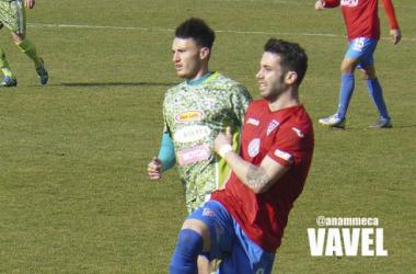 Josan en un partido con el 'brócoli mecánico'. (Foto: @anammeca | VAVEL).