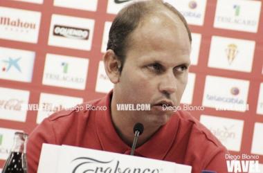 José Alberto en una rueda de prensa. Foto VAVEL.com