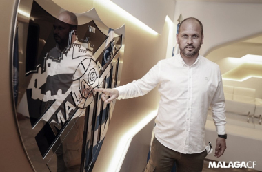 Jose Alberto López // Foto: Málaga CF