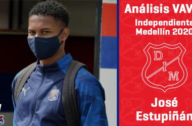 Análisis VAVEL, Independiente Medellín 2020: José Estupiñán