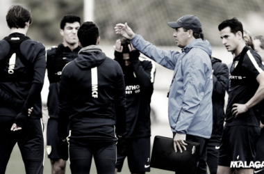 """José González: """"El descenso es cosa de cuatro equipos"""""""