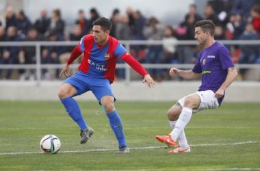 Christian Alfonso y José Luis Valiente, caras nuevas del Lleida Esportiu