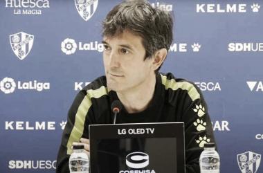 José Rojo Martín 'Pacheta' durante una rueda de prensa. Foto: LaLiga.