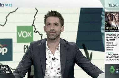 """José Yélamo presentará """"laSexta Noche"""""""