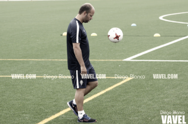 Jose Alberto durante un entrenamiento | Foto: Diego Blanco-VAVEL