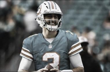 El sitio oficial de la NFL ya da por hecho el traspaso de Rosen a Dolphins // Foto: NFL.