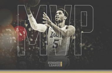 Josh Hart, MVP de la 'Summer League' | Foto: NBA.com/lakers