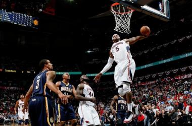 Atlanta Hawks vence Indiana Pacers e empata série em 2-2