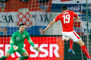 Josip Drmic, hombre gol en Suiza