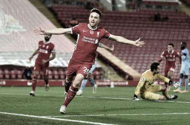 Gol de Diogo Jota faz Liverpool vencer retranca do West Ham