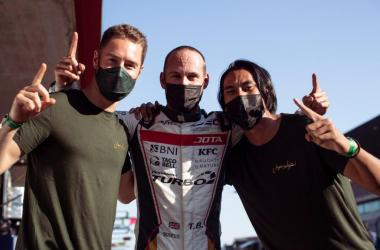 Sean Gelael, Stoffel dan Tom Rebut Pole Position