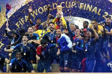 La France est championne du monde. (Twitter: @equipedefrance)