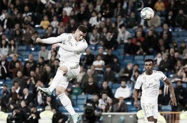 Jovic consigue su primer gol con el Real Madrid de cabeza ante el Leganés / Real Madrid