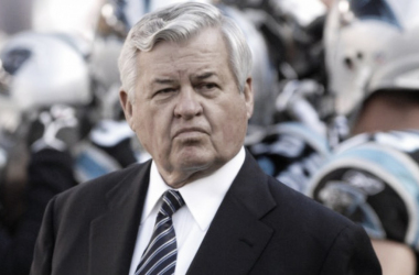 Jerry Richardson was fined by the NFL today | Source: USA TODAY Sports