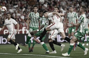 Munir fue el autor del primer gol del derbi anterior | Foto: Sevilla FC