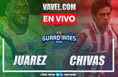 Goles y Resumen: Juárez 0-2 Chivas en Liga MX 2020
