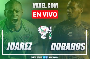 Resumen y goles: FC Juárez 3-0 Dorados de Sinaloa en Copa MX 2020