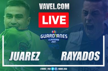 Goals and Highlights of FC Juárez 1-6 Monterrey on Liga MX 2021