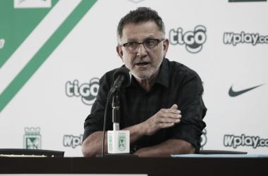 """Juan Carlos Osorio Arbeláez: """"Se cumplió el plan de juego que teníamos para enfrentar al Independiente Medellín"""""""