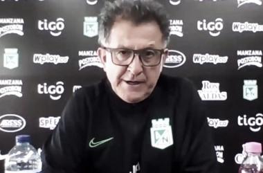 """Juan Carlos Osorio: """"Somos muy eficientes en nuestras entradas en tercio medio y ofensivo, pero no eficaces"""""""