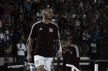 Juan Colino jugó un buen partido en la ida | Foto: Prensa Carabobo FC